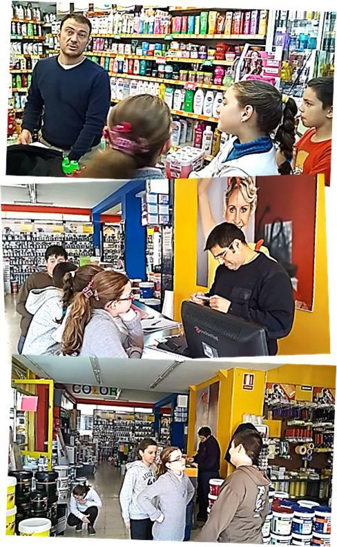 Los estudiantes se hicieron responsables de gestionar el presupuesto, de conseguir el mejor precio y de la compra de la pintura necesaria en las tiendas del barrio