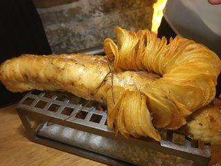 Chateubriand de rape con patatas