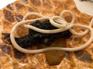 DIVERXO Soldadito de pavía de cocochas black cod