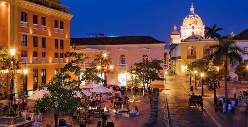 Plaza Santa Teresa, cartagena-colombia