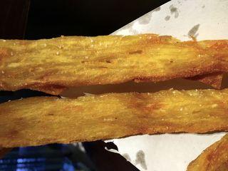 Crujientes, parecen hojaldre frito