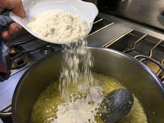 Harina para la salsa