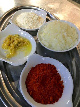 Ingredientes de la salsa bravas