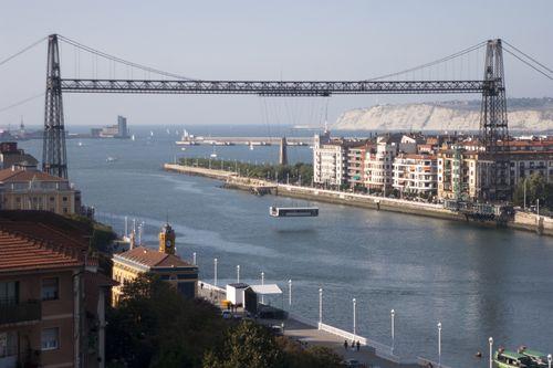 Portugalete, puente Palacio