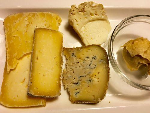 Seleccion de quesos de la familia
