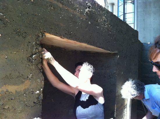 Anna Heringer muro arcila