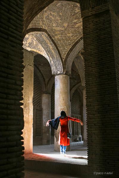 Isfahan, mezquita del Viernes - Paco Nadal