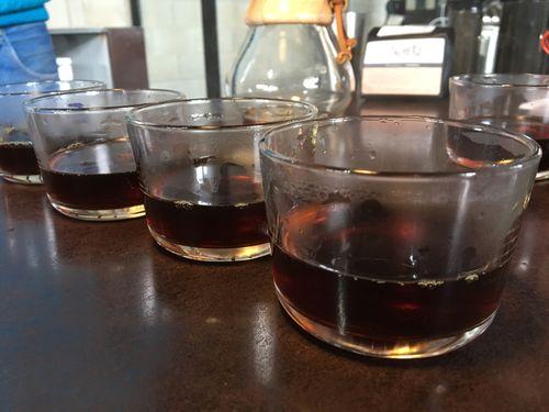 INFUSIÓN DEL CAFÉ ETIOPÉ OBTENIDO EN LA CHEMEX