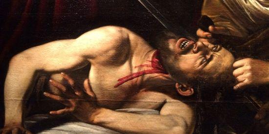 Detalle Caravaggio