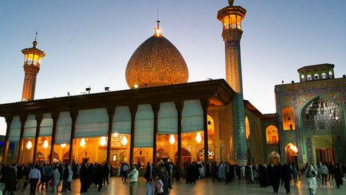 Shiraz, mausoleo Shah-e-Cherag - Paco Nadal