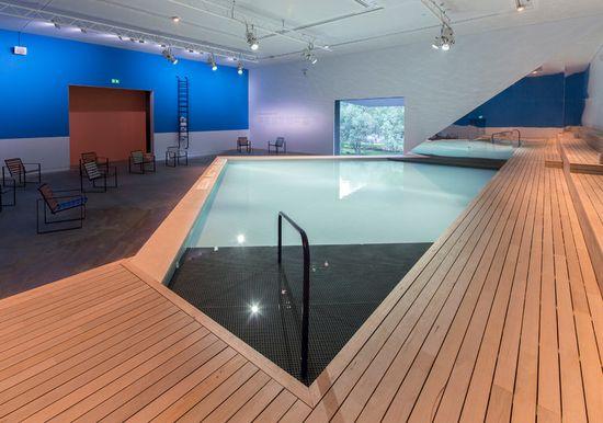 Pabellón australiano The Pool
