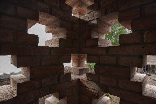 Casa de ladrillos muro