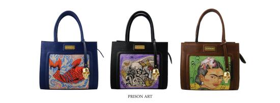 Bolsos de Prison Art