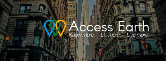 Access earth - conoce más -haz más - vive más