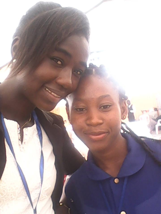 Nadia Djadji durante el MASA en el marco del Abidjan Vis a Vis
