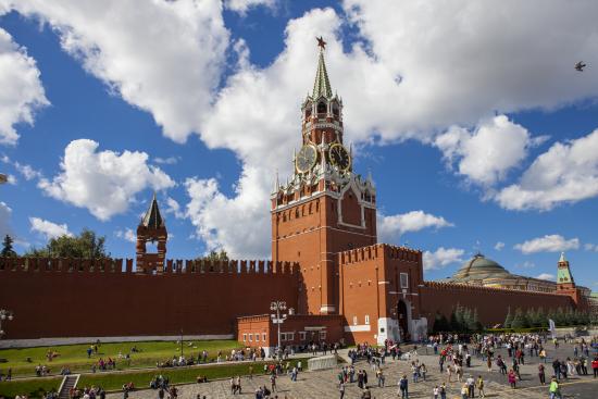 El Kremlin des de la catedral de Sant Basili