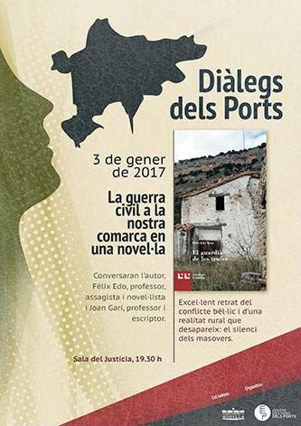 Cartell dels Diàlegs del Ports (Morella)