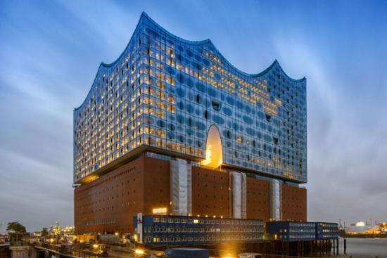 Filarmónica Hamburgo fachada