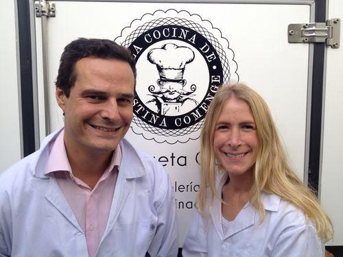 Cristina Comenge y Diego Gómez Monche