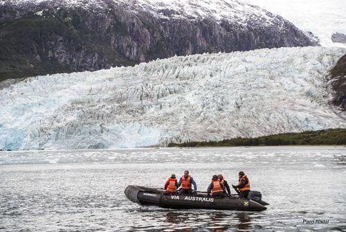 Glacia Pía (Patagonia)-Paco Nadal