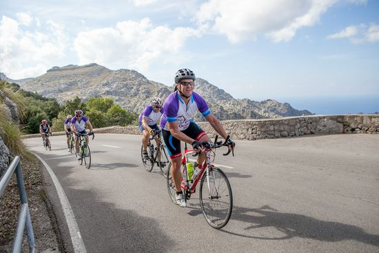 Majorca's mountains, perfect for cycling