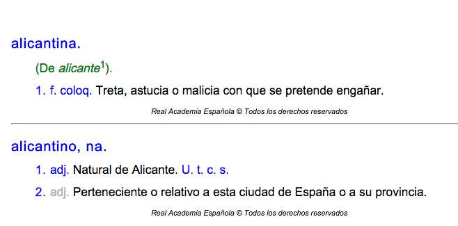 Alicantina