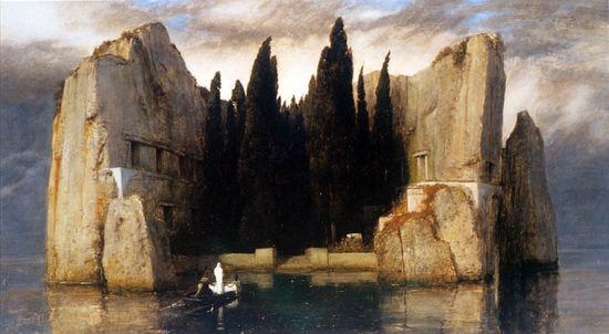 La isla de los muertos Arnold Böcklin