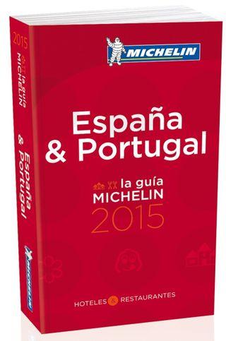 Portada de la Guía Michelin España y Portugal 2015