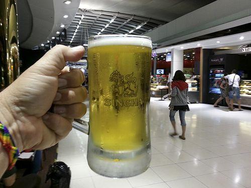 Una shinga aeropuerto Bangkok