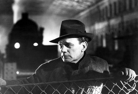 Fotograma de la película El tercer hombre