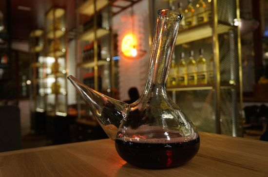 Porron wine fandango