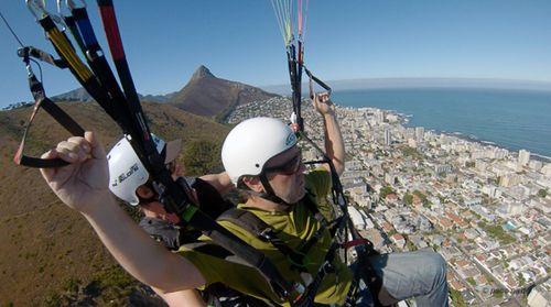 Vuelo en parapente Cape Town-Paco Nadal