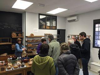 Despacho de pan de El Horno de Babette