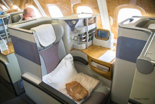 Business Class A380 Emirates 7