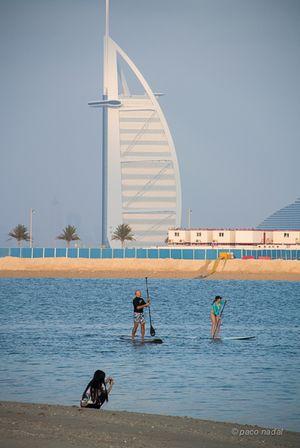 5. Playa de Dubai y Burj al Arab-Paco Nadal