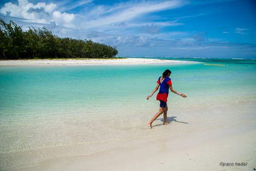 1. Mauricio, playa de la isla de los Ciervos