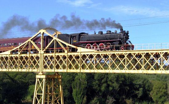 Estero del Salto Tren Temuco Turismo Chile