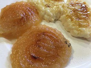 Compota de manzana y arroz con leche, dos postres que no hay que perderse en La Bolera