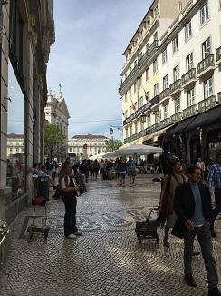 Barrio de Chiado en Lisboa