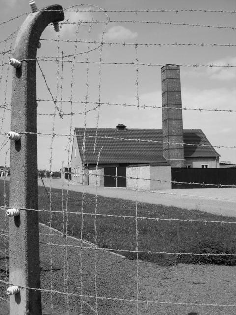 El crematori de Buchenwald (Foto Joan Garí)