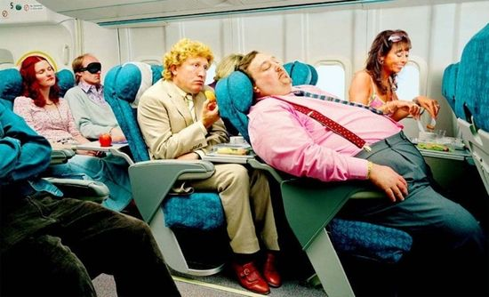 Avion gordo
