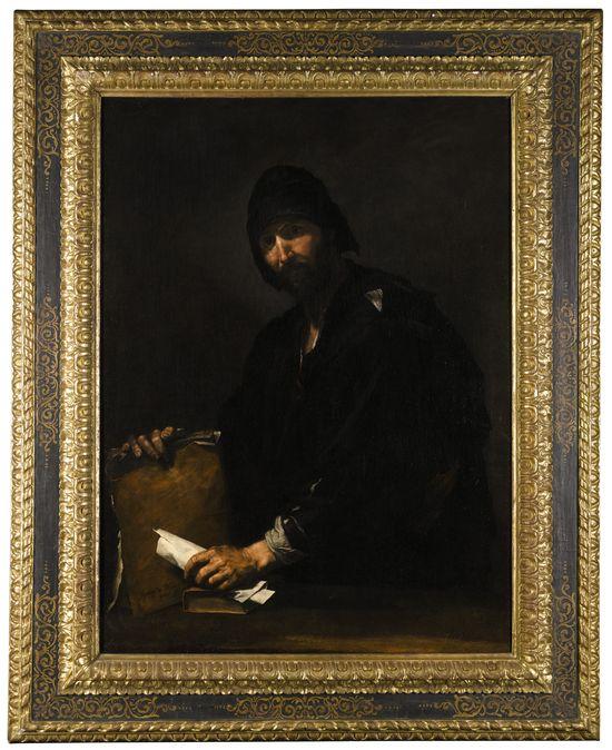Lot 556, Studio of Jusepe De Ribera Called Lo Spagnoletto