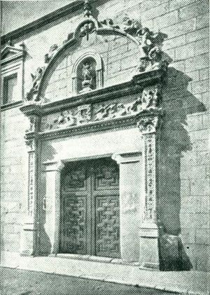 Convento de Carmelitas Delcalzas, calle de la Imagen. Alcalá de Henares