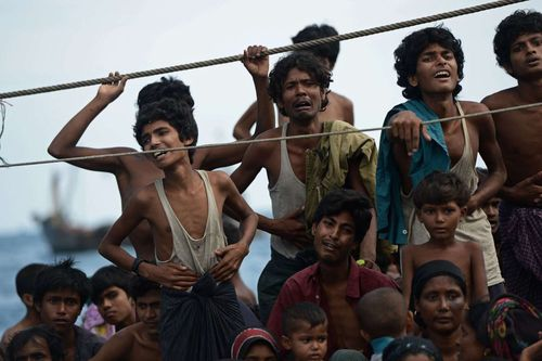 1. Refugiados rohingya