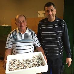 Paco Ferreres y su hijo Alberto