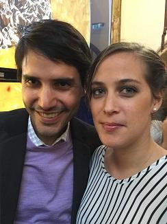 Virgilio Martínez y su mujer Pía, triunfadores de la noche que colocaron su restaurante Central en cuarta posición