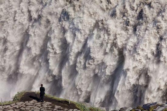 La cascada de Dettifoss, al noreste de Islandia.  - Olimpio Fantuz