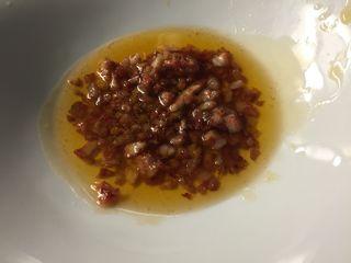 Picadillo de jamón, uno de los ingredientes