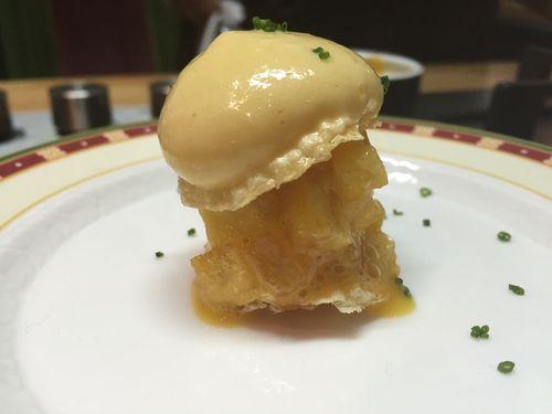 El pincho de tortilla de El Cenador de Amós que Jesús Sanchez creó en 2014