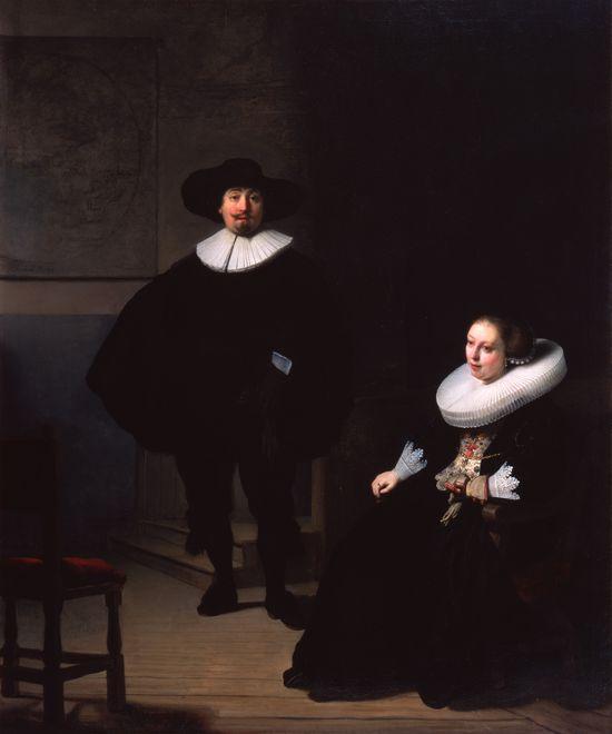 Rembrandt_aladyandgentlemaninblack